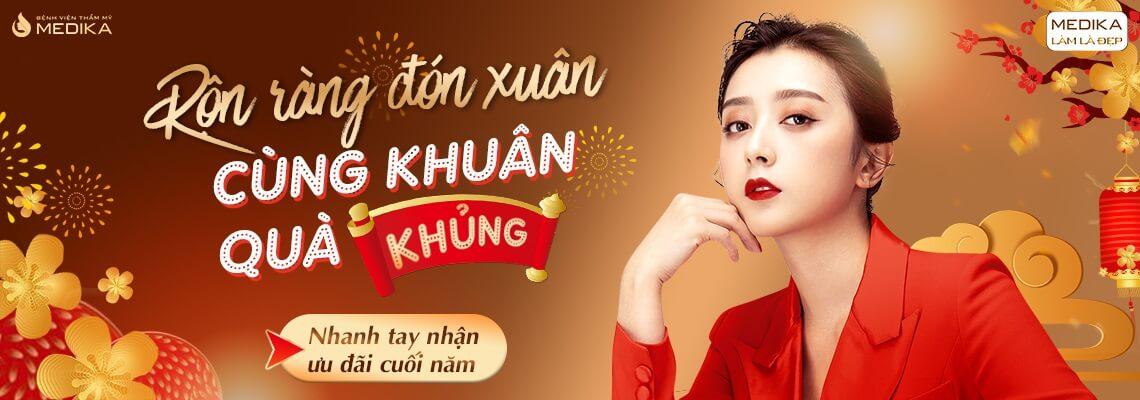 Banner ngang - Rộn ràng đón xuân - Cùng khuân quà khủng - Tháng 12/2019 - MEDIKA.vn