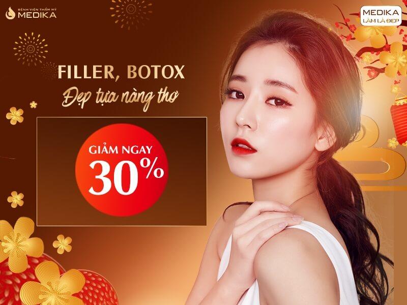 Filler - Botox - Đẹp tựa nàng thơ - Tháng 12/2019 - MEDIKA.vn