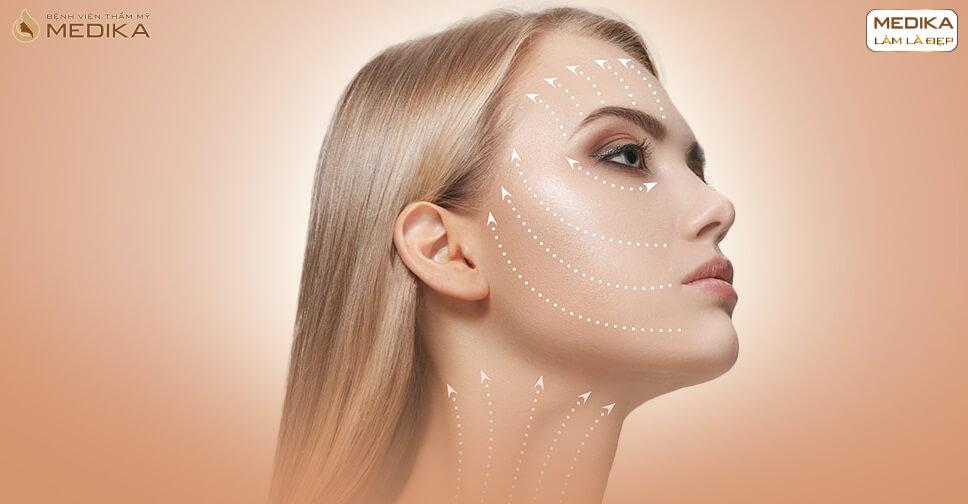 Hướng dẫn cách chăm sóc da sau khi thực hiện căng da bằng chỉ - MEDIKA.vn