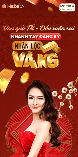 Vạn quà Tết - Đón xuân vui MEDIKA - 01-01-2020 - Banner dọc