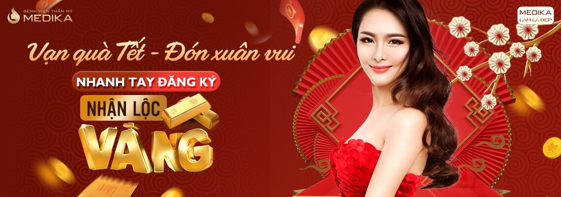 Vạn quà Tết - Đón xuân vui MEDIKA - 01-01-2020 - Banner ngang