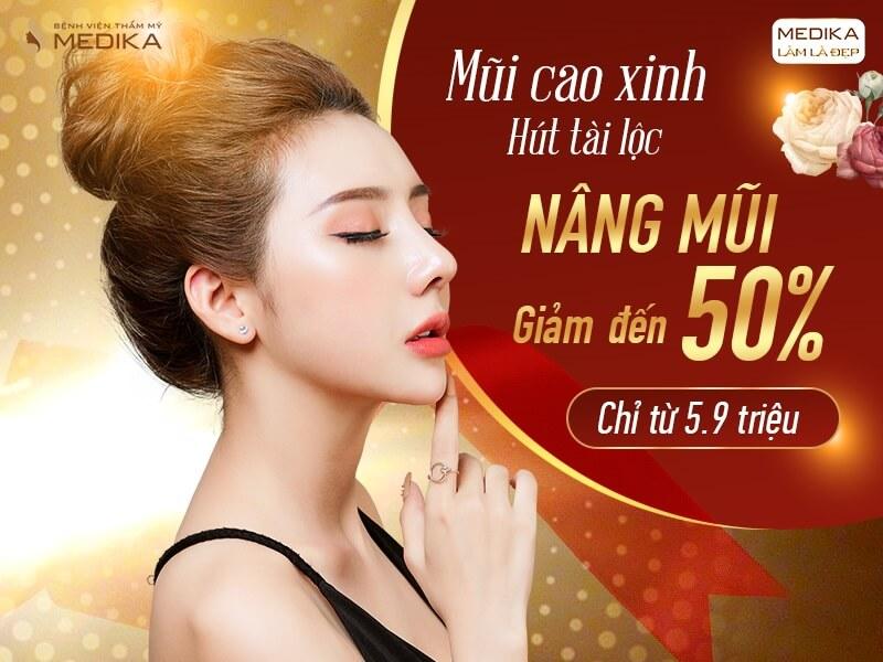 Nâng mũi cao xinh - Hút tài lộc - Mùng 8-3-2020 - MEDIKA.vn