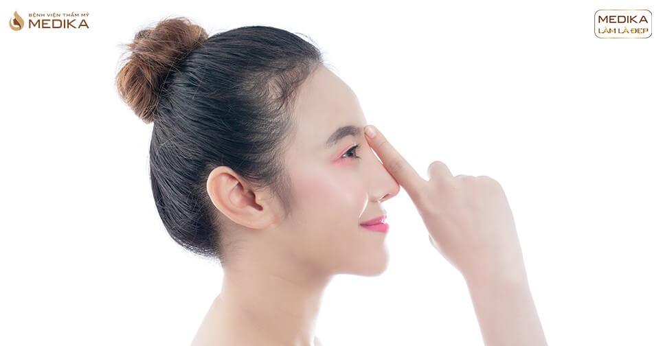 Nâng mũi sụn sườn mũi đẹp mũi bền theo thời gian - MEDIKA.vn