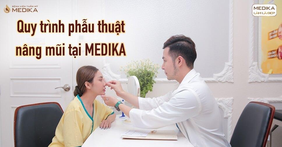 Nâng mũi an toàn là chất lượng mà bệnh viện thẩm mỹ MEDIKA luôn hướng đến