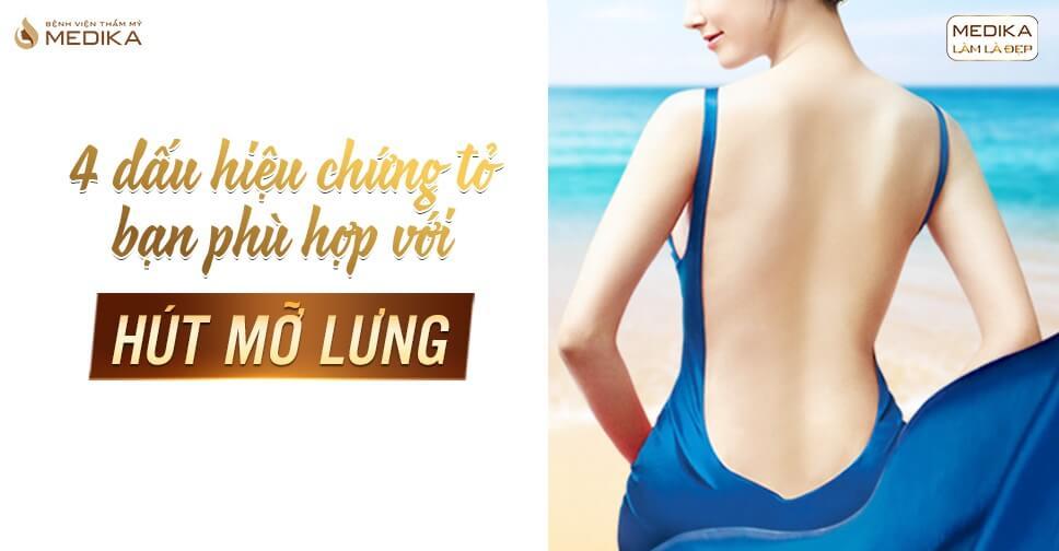 4 dấu hiệu chứng tỏ bạn phù hợp với hút mỡ lưng