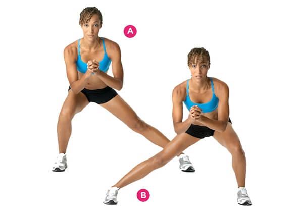 Bài tập Side Lunge giúp giảm cân hiệu quả