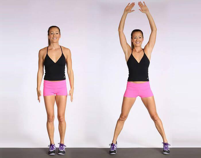 Bài tập Jumping Jacks giúp giảm mỡ hiệu quả