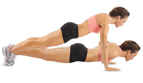 Bài tập chống đẩy giảm mỡ lưng