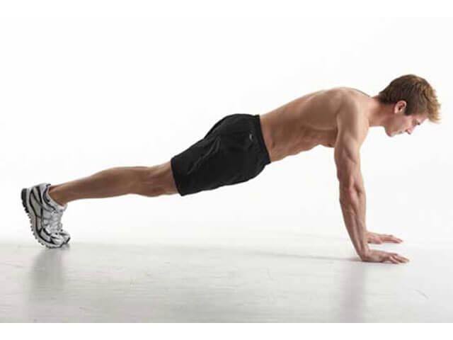 chống đẩy giúp giảm cân hiệu quả