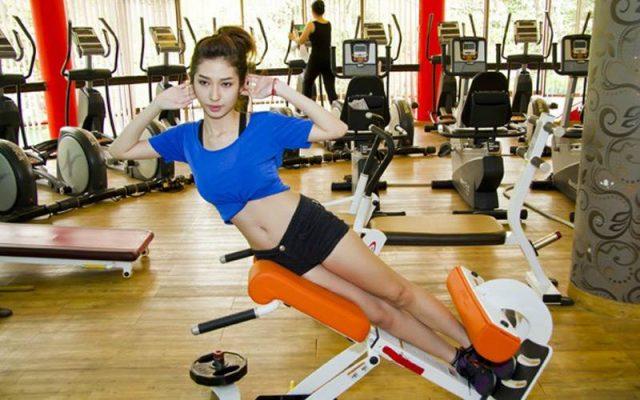 Tập Gym giúp giảm mỡ bụng hiệu quả