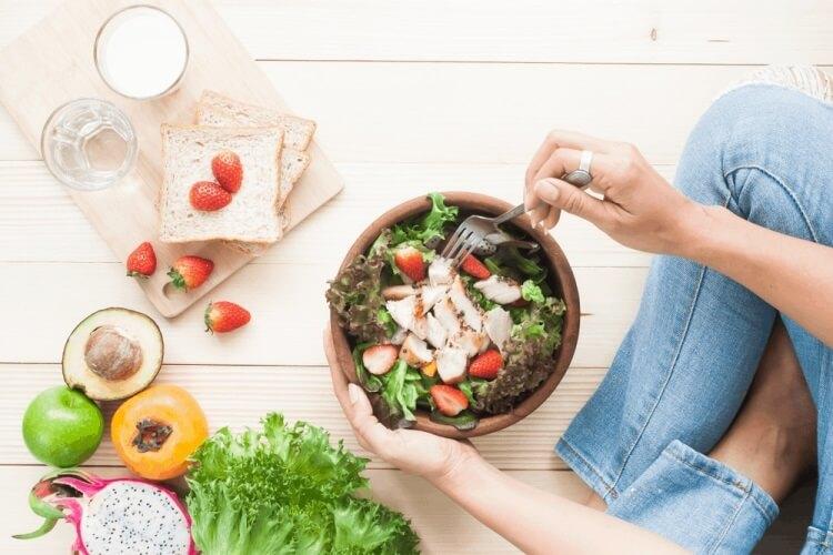 chế độ ăn cơm giảm cân