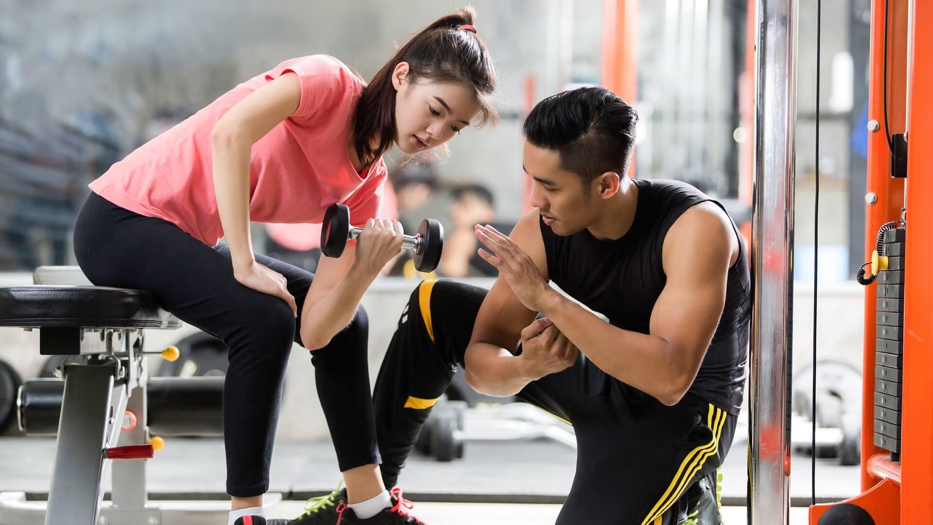 tập gym giảm mỡ