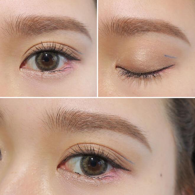 Vẽ eyeliner sát mí mắt