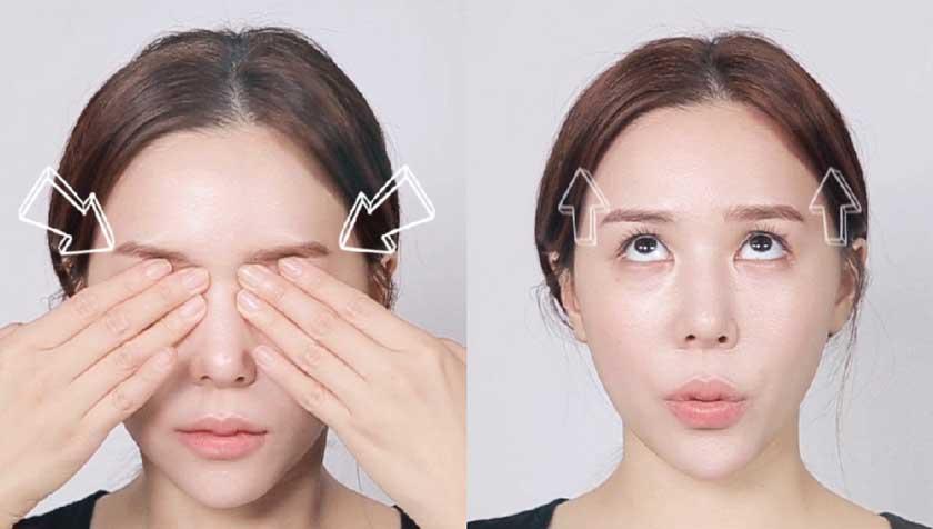 đảo mắt giúp giảm stress mắt hiệu quả