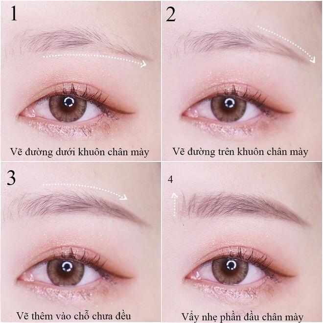Bí quyết giúp mắt to tròn hiệu quả như mở rộng góc mắt
