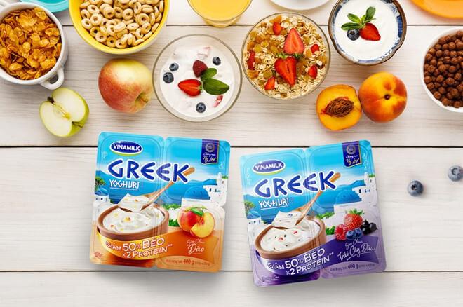 Cách giảm cân bằng sữa chua Hy Lạp