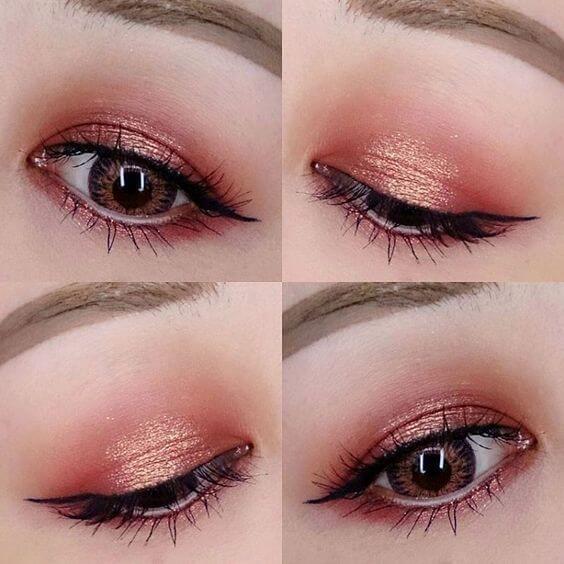 Cách có mắt 2 mí bằng trang điểm mắt