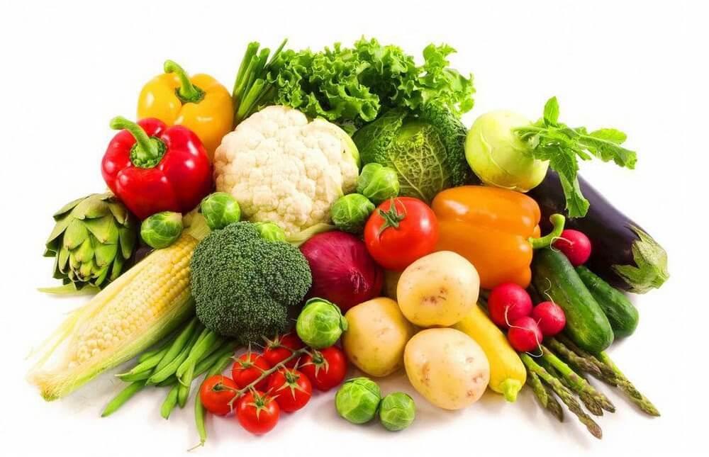 rau củ quả giúp giảm cân