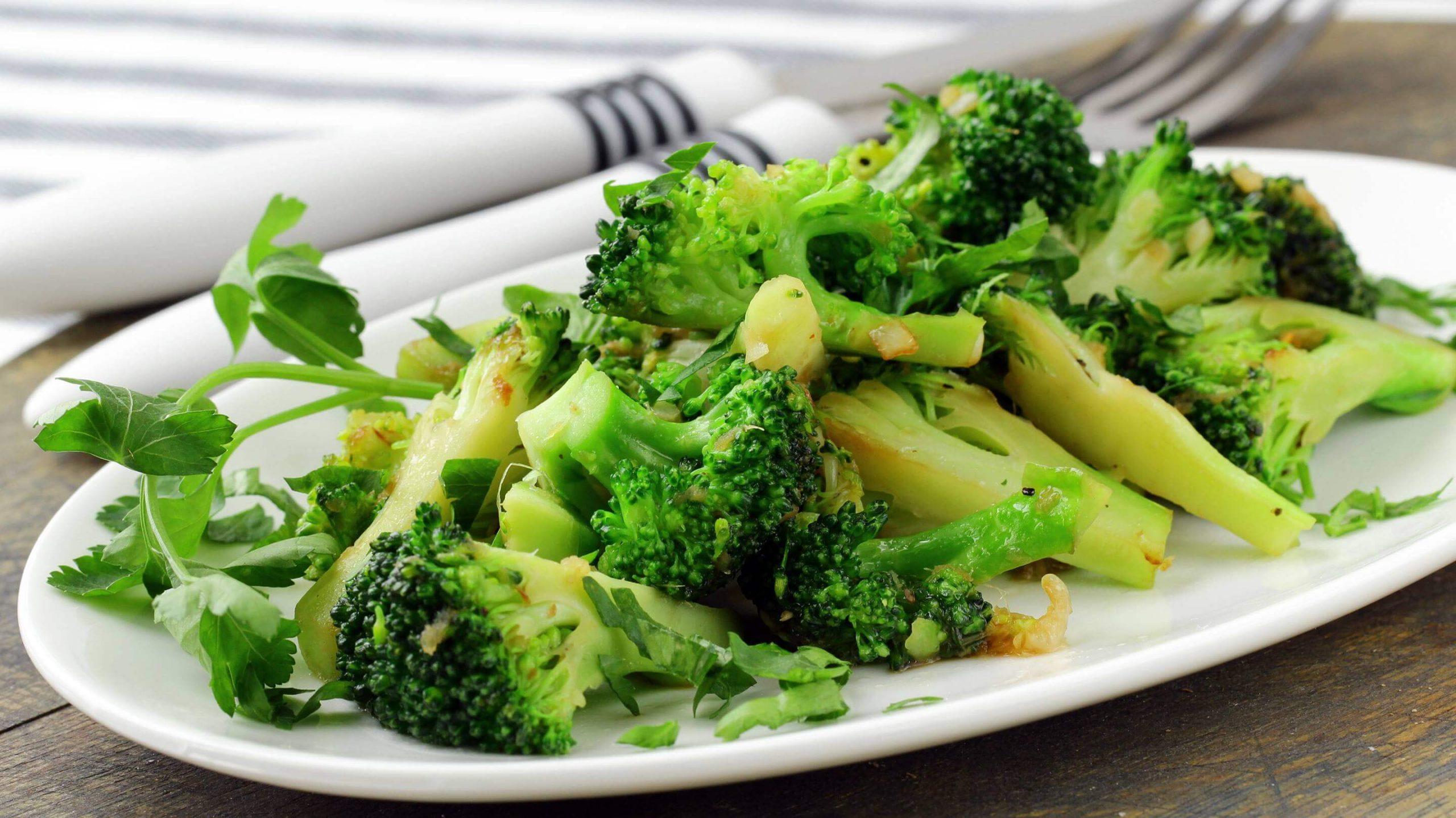 giảm cân bông cải xanh