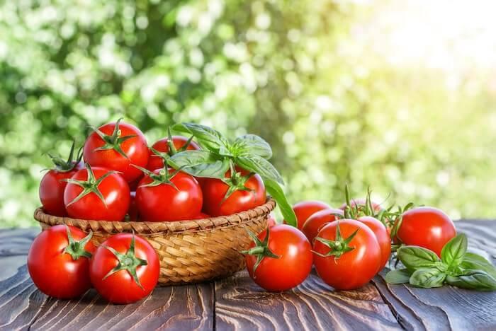 cà chua hỗ trợ giảm cân