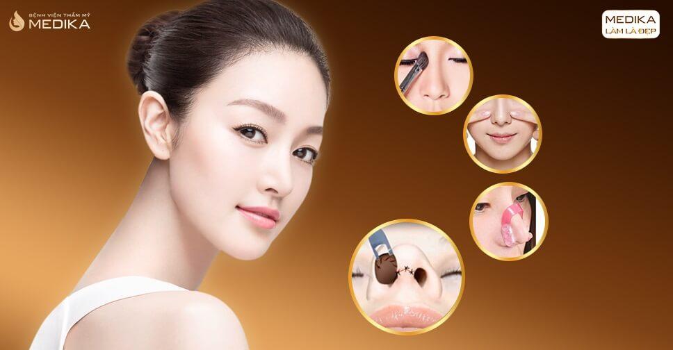 Đánh giá độ an toàn của tiểu phẫu thu gọn cánh mũi - MEDIKA.vn