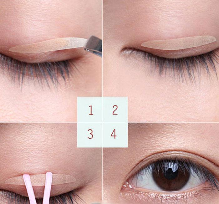 sử dụng miến dáng mí giúp tạo mắt 2 mí như cắt mí mắt tại MEDIKA