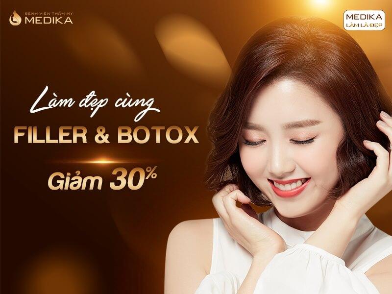 Làm đẹp cùng Filler Botox tháng 05-2020 - MEDIKA.vn
