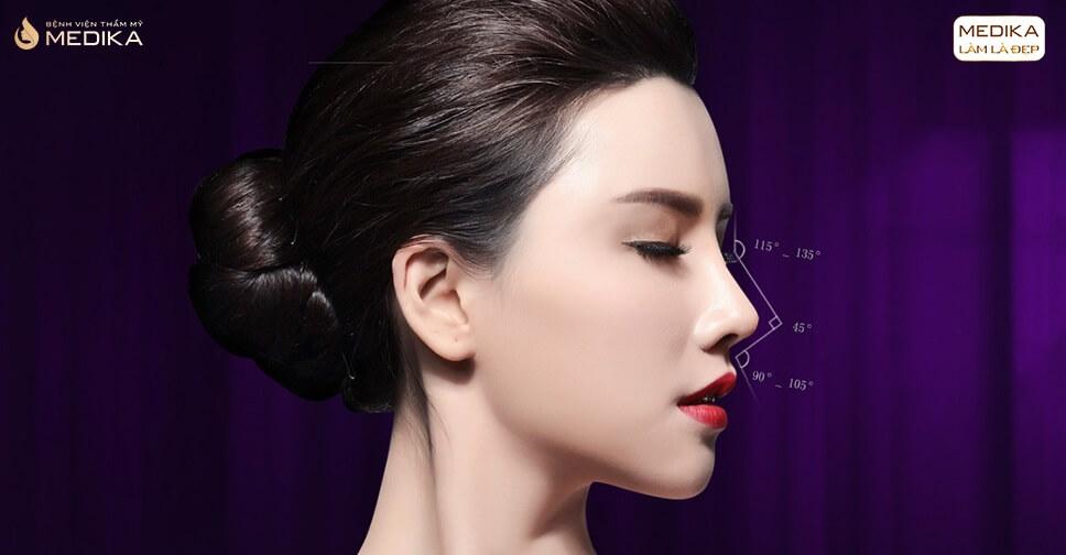 Phẫu thuật nâng mũi đẹp - Dáng mũi quyết định vẻ đẹp cho gương mặt - MEDIKA.vn