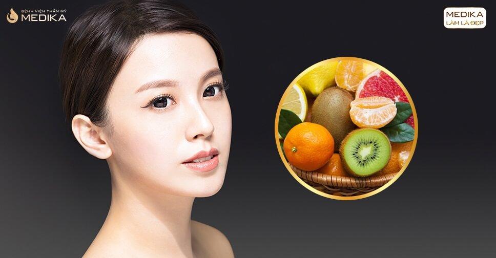 Sau nâng mũi bằng sụn sườn ăn kiêng hoa quả gì để nhanh hồi phục? - MEDIKA.vn