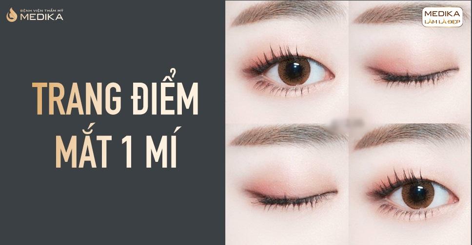 Trang điểm mắt tự nhiên thực hiện 6 mẹo hack mắt 1 mí