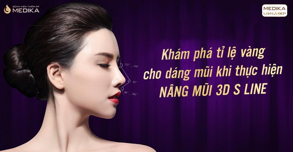 Khám phá tỉ lệ vàng cho dáng mũi khi thực hiện nâng mũi 3D - MEDIKA.vn