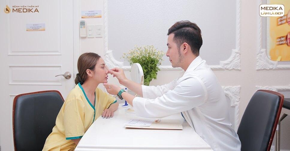 Làm gì để tránh được biến chứng khi nâng mũi sụn nhân tạo? - MEDIKA.vn