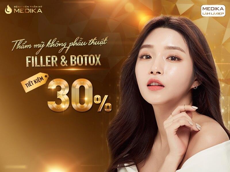 Thẩm mỹ không phẫu thuật Filler - Botox - MEDIKA - Tháng 07-2020