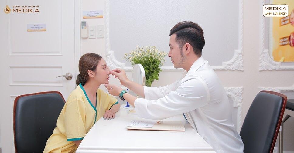 3 việc quan trọng không nên bỏ qua sau nâng mũi S line ở Bệnh viện thẩm mỹ MEDIKA