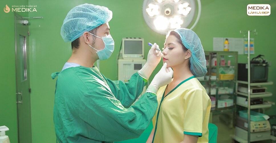 Nâng mũi bọc sụn vì sao nên thực hiện tại Bệnh viện thẩm mỹ MEDIKA?