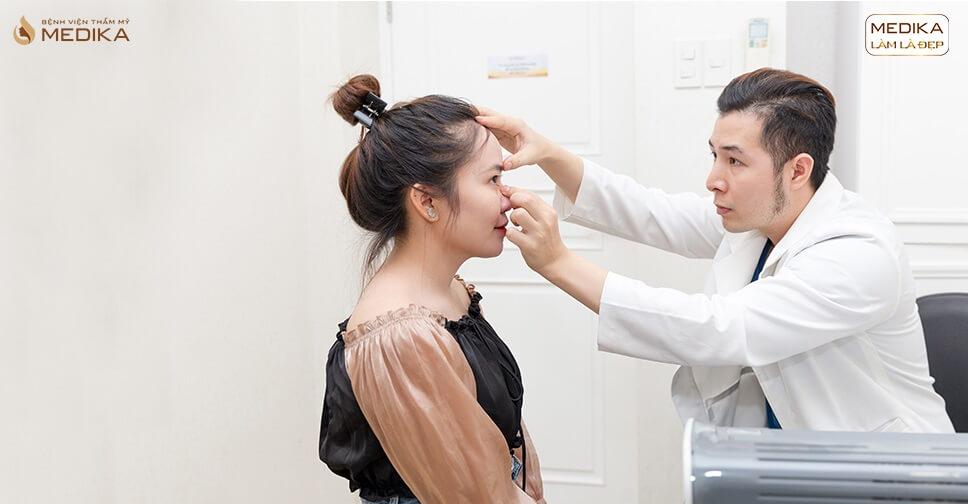 Nâng mũi sụn tự thân bị lệch phải làm sao ở Bệnh viện thẩm mỹ MEDIKA?