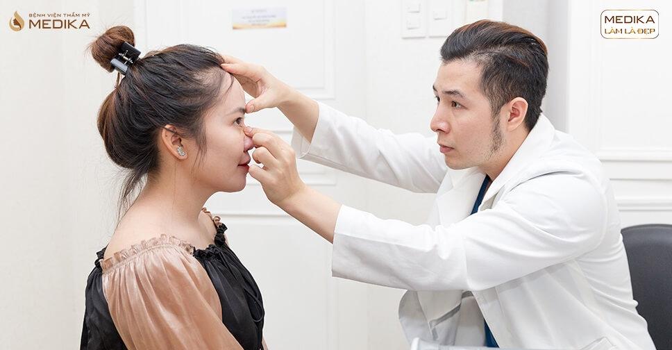 Bác sĩ nói gì về tình trạng đầu mũi cứng sau nâng mũi bởi Bệnh viện thẩm mỹ MEDIKA