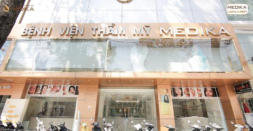 Đơn vị phẫu thuật nâng ngực uy tín đường 3 tháng 2 từ Bệnh viện thẩm mỹ MEDIKA