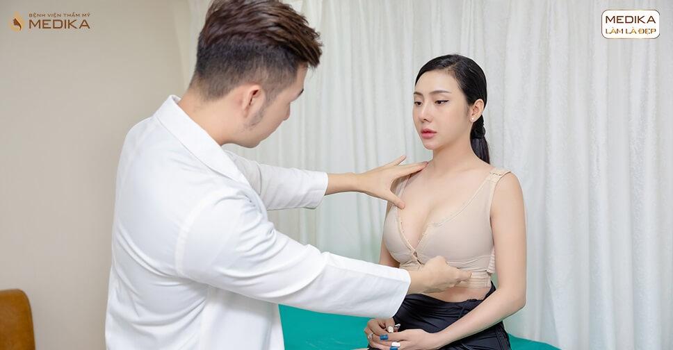 Chế độ chăm sóc sau khi nâng ngực đẹp bởi MEDIKA?