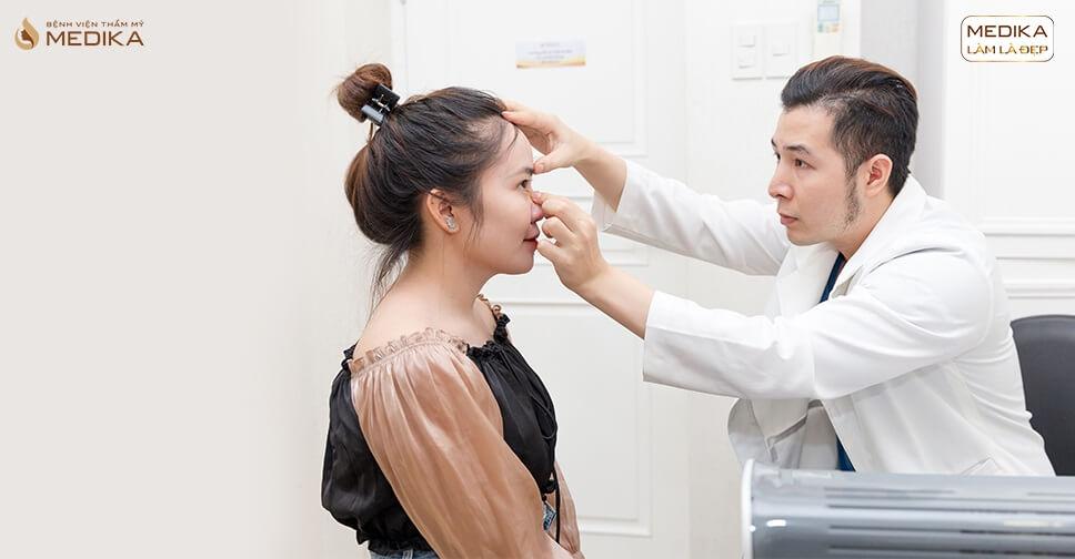Nâng mũi và các kiến thức bắt buộc phải biết trước phẫu thuật bởi Bệnh viện thẩm mỹ MEDIKA