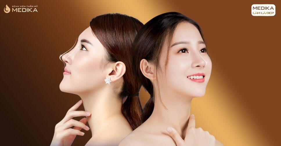 Nên chọn dáng mũi cao tây hay tự nhiên để nâng mũi đẹp bởi Bệnh viện thẩm mỹ MEDIKA?