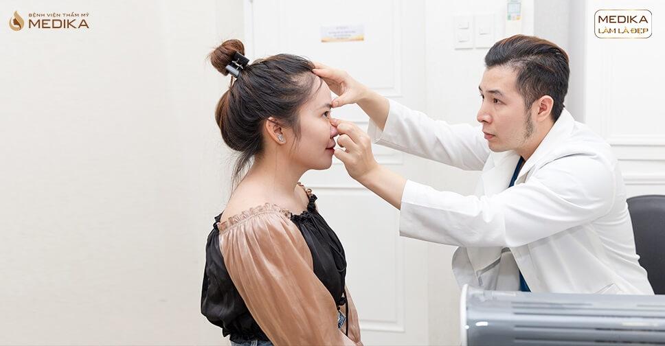 Những điều cần phải biết khi nâng mũi an toàn từ Bệnh viện thẩm mỹ MEDIKA