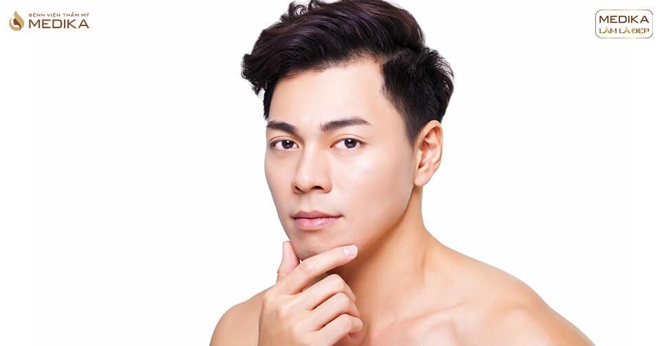 Xu hướng phẫu thuật thẩm mỹ nam trở nên phổ biến
