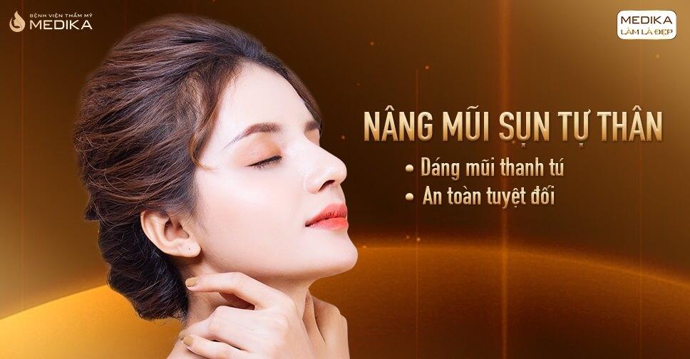 Nâng mũi bằng sụn tự thân có thật sự an toàn như quảng cáo từ Bệnh viện thẩm mỹ MEDIKA?