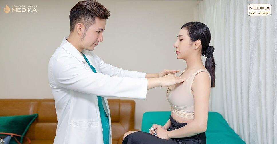 Phẫu thuật ngực hỏng do tìm hiểu không kỹ từ Bệnh viện thẩm mỹ MEDIKA