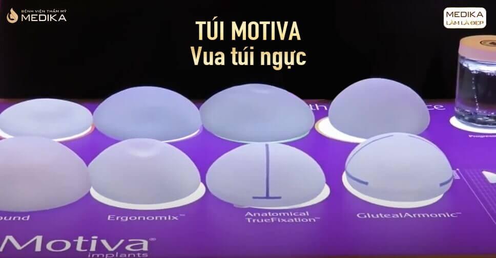 Túi Motiva được sử dụng nhiều đầu năm 2021 từ Bệnh viện thẩm mỹ MEDIKA