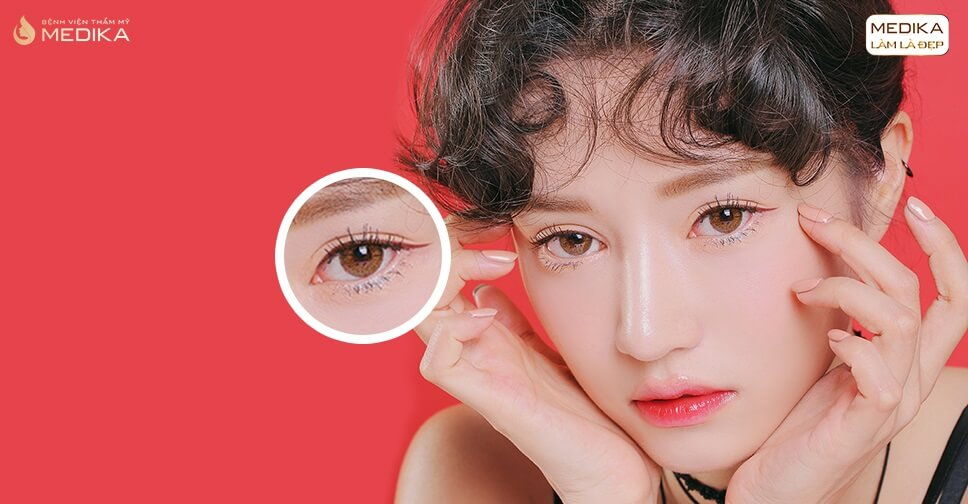 Bấm mí đa điểm Hàn Quốc sự thật có thể giảm thị lực