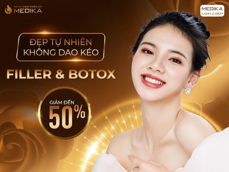 Filler - Botox - Đẹp tự nhiên không dao kéo
