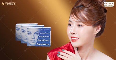 Nâng mũi Surgiform - Chất liệu mới ngành thẩm mỹ mũi