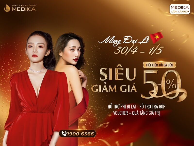 Mừng đại lễ 30/4 - 1/5 Siêu giảm giá - Tiết kiệm tối đa - Thumbnails - MEDIKA.vn